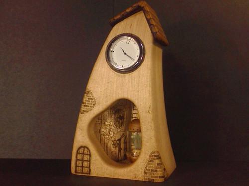 置き時計『時計台守』